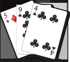 blackjack kéz 1